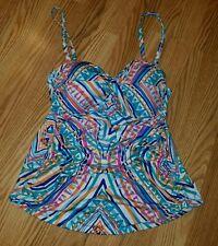 Apt. 9 swim top size large L bikini two piece bathing suit