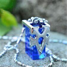 Anime Sword Art Online Necklace SAO Kirito Asuna Yuki Blue Metastasis Crystal