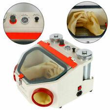 Dental Lab Sandblaster with 2 Pen + 2 Tanks Sandblaster Machine Pedal Control