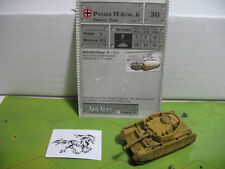 Axis & Allies Base Set Panzer IV Ausf. G with card 32/48