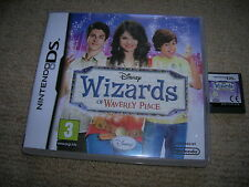 WIZARDS OF WAVERLY PLACE - Rare Boxed Nintendo DS Game !!