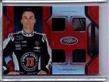 2016 Certified Materials Racing Mirror Red Quad Relic KEVIN HARVICK /75
