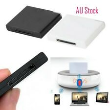 Bluetooth Music Audio Receiver Adapter for iPod iPhone 30-Pin Dock Speaker