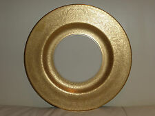 NORTHWOOD UNIVERSITY PICKARD 24K GOLD ENCRUSTED HAND DECORATED COLLECTIBLE PLATE