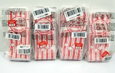 New 400 Carnival King Paper Popcorn Machine Bag 1 Ounce Red Amp White 8 Small