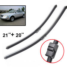 "Front Windshield Wiper Blades 21"" 20"" Fit For VW Passat B5.5 2002 2003 2004 2005"