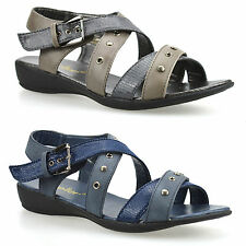 Dr. Keller Synthetic Leather Wedge Shoes for Women