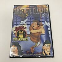 Notre Dame DVD Movie Video Cartoon New Sealed Hunchback East West Entertainment