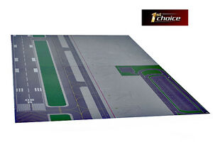 1st Choice Gemini Jets Airport Mat Layout Set 1/400 Scale *New Design* FCAAL005