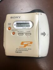 Sony Mz-S1 Net Md Sports Walkman MiniDisc Player Recorder G-Protection Portable