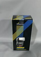 PROMASTER 7200EDF Electronic Flash, For Digital & Traditional Cameras.