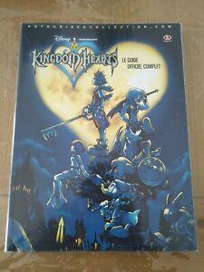 Guide officiel Kingdom Hearts PS2 Français, Piggyback, état neuf, RARE !