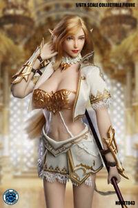 SUPER DUCK 1/6 Elf Suit Set&Head Model SET043 12'' Female Figure Accessories