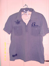 Men's Other Cotton Blend Fitted Casual Shirts & Tops