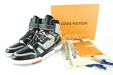 NEW LOUIS VUITTON LV HIGH TOP TRAINER MEN SNEAKER BOOT LV 9 / 10 US VIRGIL ABLOH