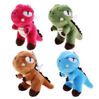 Mini Plush Toy Dinosaur Bag Keychain Pendant Decoration Plush Toy Dolls