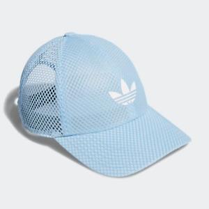 adidas Mesh Strap-Back Women Cap Hat Sky Blue CM3871