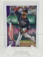 Topps 2020 Series 1 Baseball Card #193 Anibal Sanchez Meijer Purple Parallel