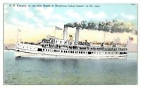 1914 Steamer SS Kennedy from Seattle to Bremerton, WA Postcard