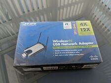 LINKSYS Wireless N USB Network Adapter extension cable base CDROM Cisco systems