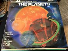 THE PLANETS HOLST PHASE 4 STEREO BERNARD HERRMAN LONDON PHIL ORCHESTRA & CHORUS