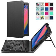 For Samsung Galaxy Tab A 8.0 2019 SM-P200 SM-P205 Bluetooth Keyboard Case Cover