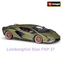 Bburago 1:18 Lamborghini Sian FKP 37 hybrid Simulation sports Diecast Model Car