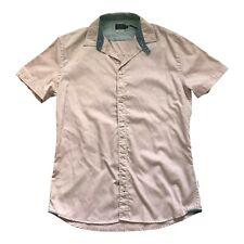 Paul Smith Short Sleeve Shirt Trumpet graphics contrast collar