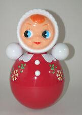 Kitsch Kitchen Stehaufpuppe Puppe rot 27 cm Retro Stehaufmännchen Roly Poly