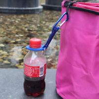 Outdoor Hiking Camping Water Bottle Holder Hook Snap Buckle Key Clip Carabiner