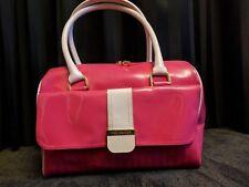 Ted Baker hot pink large bowler handbag