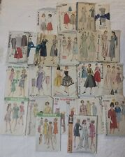 New ListingVintage Lot Of 22 Sewing Patterns Simplicity McCalls Hollywood Fashion Designer!