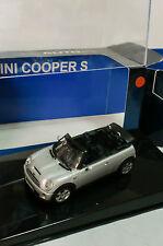 AUTO ART 1/43 - BMW MINI COOPER S CABRIOLET SILVER