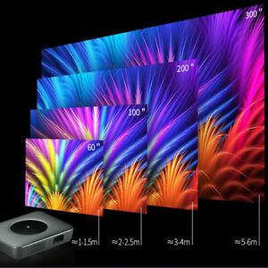 """Vizion 540X Pico 3D Mini Laser Projector 7000 Lumen Android 7.1 50 To 300"""""""