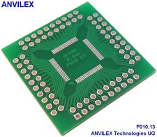 5 x  TQFP80 (12mm x 12mm) Adapter P010.13