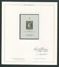 FRANCE No. 1 OFFICIAL REPRINT UPU CONGRESS 1984 MEMBERS ONLY !! RARE !! z689