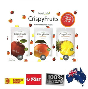 Crispy Pure Apple Mango Pineapple Dried Fresh Fruit Kid Lunch Snack POSTED