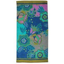 Karma Towel Beach Pool Floral Print Velour Machine Wash Cotton 400 gsm