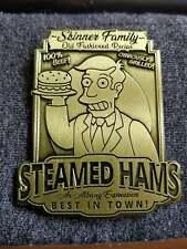 (FREE/FASTSHIP!) The Simpsons Steamed Hams Bronze Pin (Enamel Metal Badge Meme)