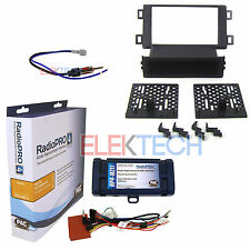 Car Radio Replacement Interface w/Steering Control Dash Kit & Antenna for Mazda