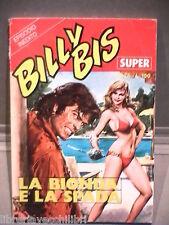 SUPER BILLY BIS Editrice Universo 1972 N 26 Fumetti Narrativa per Ragazzi Gialli