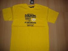 MEXX@gelbes Shirt / T-Shirt@ Mexx @CRAZY PIRANHA@100%Baumwolle@Gr. 134/140@NEU
