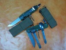 COUTEAU KNIFE PLIANT LAME ACIER MULTIFONCTIONS RANDONNEUR  PECHE CHASSE BIVOUAC