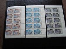 MONACO - timbre yvert et tellier preoblitere n°27 a 29 x10 n** - stamp monaco