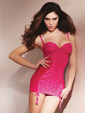 Ann Summers In Control Pink & Silver Cami Suspender Sz 38DD *In Stock*