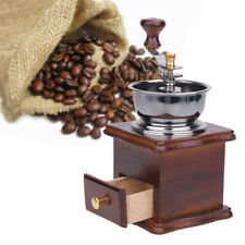 Mini Manual Coffee Bean Grinder Hand Retro Stainless Steel Ceramic Mill Maker