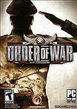 ORDER OF WAR PC GAME GREAT CLASSIC WWII STRATEGY GAME