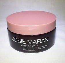 Josie Maran WHIPPED ARGAN OIL BODY BUTTER 8 oz Unsealed TOASTED BROWN SUGAR