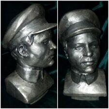 "VNT Russian Soviet USSR Kirov old  bust statue  Stalin Lenin friend  9""(23cm)H"