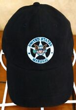 NEW....OFFICIAL USMS US Marshal Service Baseball Hat cap black embroidered